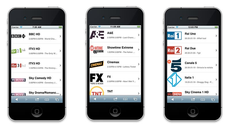 You Can Watch Live TV on Your iPhone or iPad with This Website (Update: Android Too!)