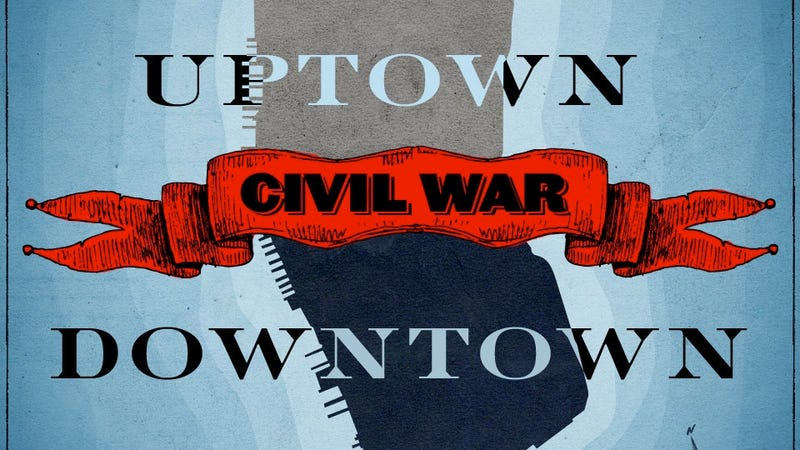 Manhattan's Impending Uptown-Downtown Civil War: Who Will Win?