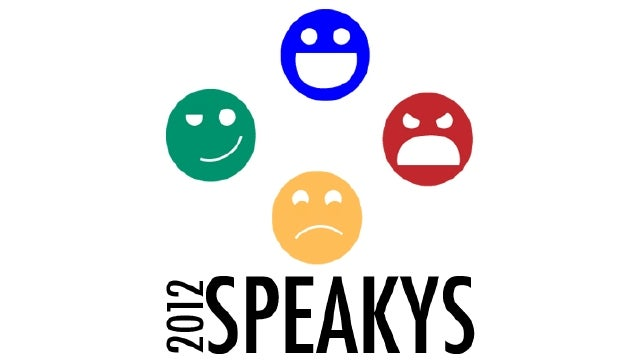 The Speakys—Your Games of the Year—Have Been Named, Now Pick the Best