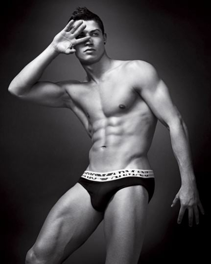 Cristiano Ronaldo Heats Up A Billboard Near You; Italian Prince Overshares About Kate Moss