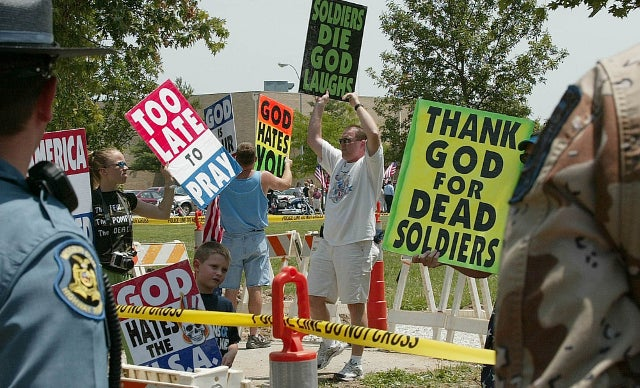 Westboro Baptist Church Members Plan to Picket Military Funerals Despite New Restrictions