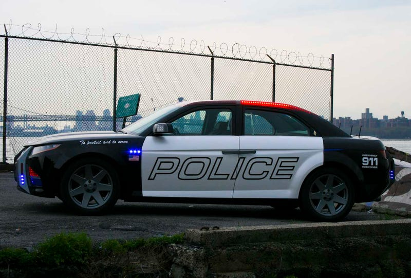 Carbon Motors E7: NYPD Cool