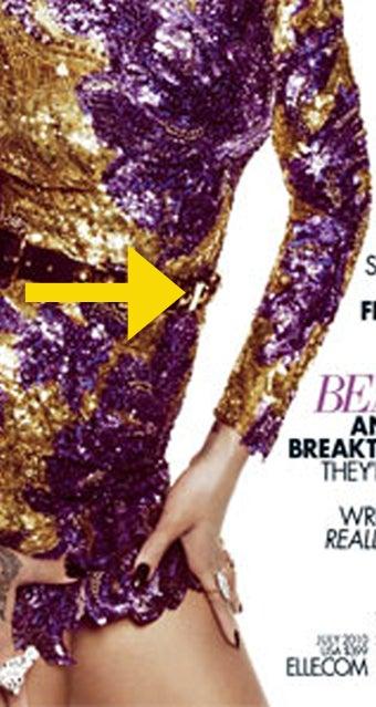 Elle: Rihanna's Waist Gets Whittled Via Photoshop