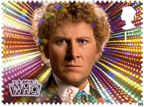Official Doctor Who stamps are the next best thing to a Time Lord message cube