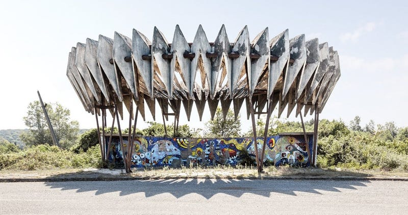 These Bus Stops Leftover from the Soviet Union Are So Wonderfully Bizarre