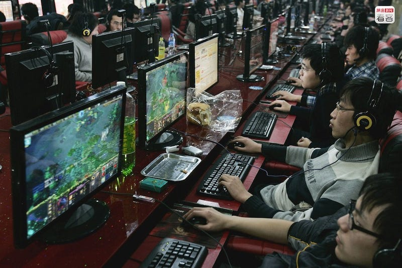 A Look Back At Chinese Net Cafes Through The Years