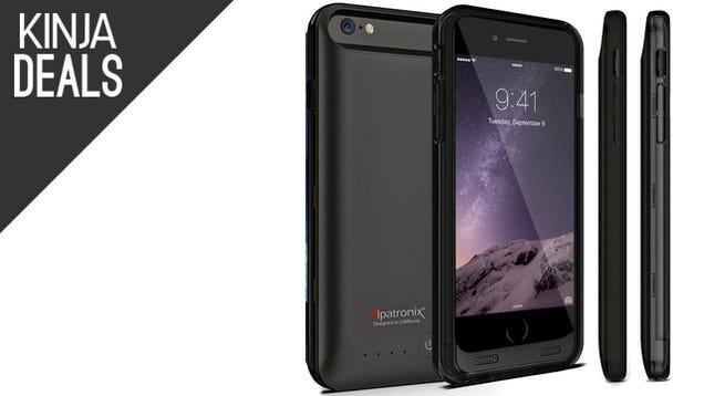 $31 iPhone 6 Battery Case, the Best Smartphone Dash Mount, More Deals