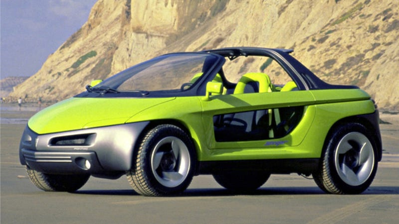 The Pontiac Stinger Was A Beach-Going Funmobile With A Garden Hose