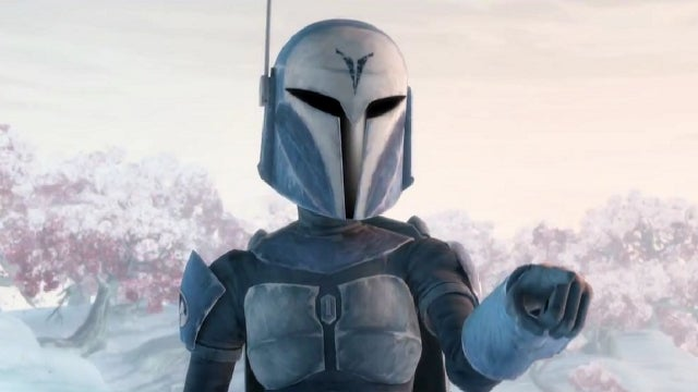 Saturday Morning Cartoons - Katee Sackhoff as a Female Mandalorian on Clone Wars and Brony time!