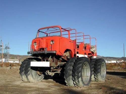 Monster Willys Jeep FC-170