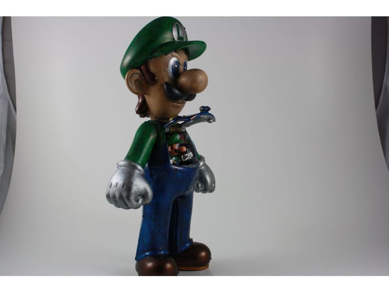 Luigi Went and Built Himself a Mecha to Make Mario Jealous