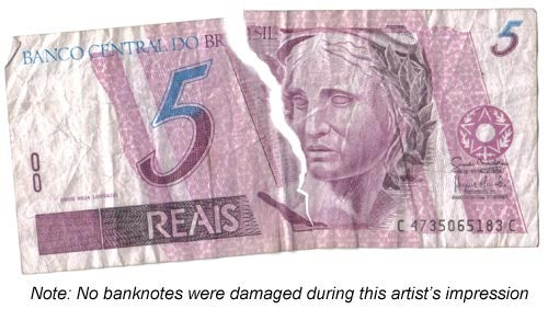 What happens in our brain when we see banknotes being ripped up?