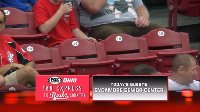 The Cincinnati Reds' Guest Fans Of The Game...Might Be Dead