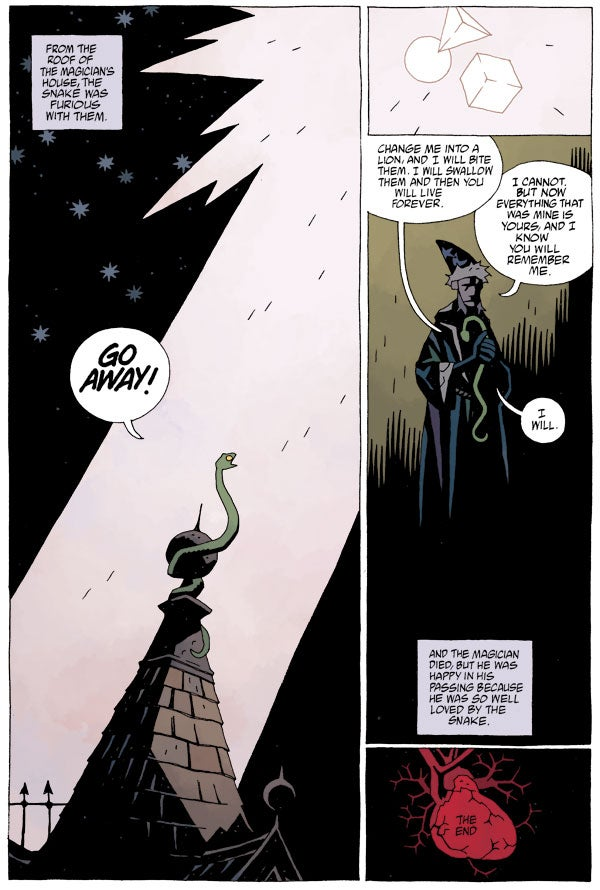 This comic by Mike Mignola and his daughter is the most heartwarming thing you'll read all day
