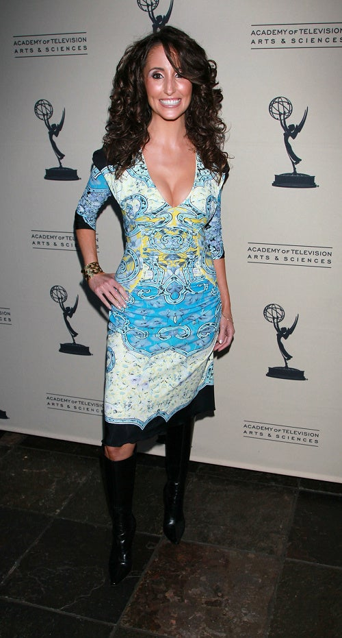 Touchy-Feely Fashion At Emmy Event