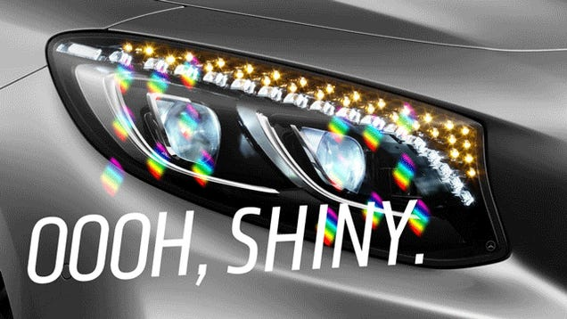 The Secret Of Swarovski Crystal Headlights: They're Stupid And Fake