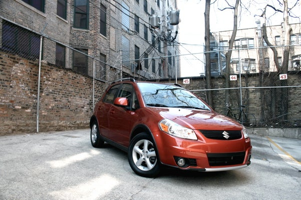2008 Suzuki SX4, Part Three