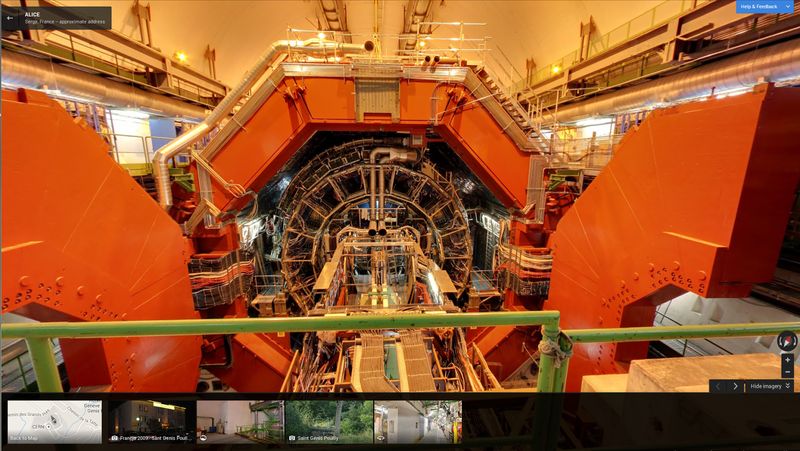 You can now visit CERN—including the LHC—on Google Street View