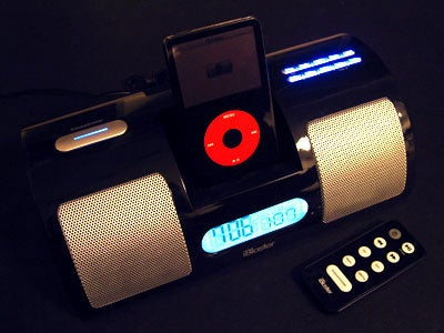 iBlaster Clock Radio For The iPod