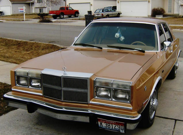 In the crosshairs trivia question answered for 1987 dodge diplomat salon
