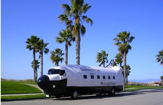 Please Buy This Space Shuttle Food Truck and Name It the Crepe Canaveral