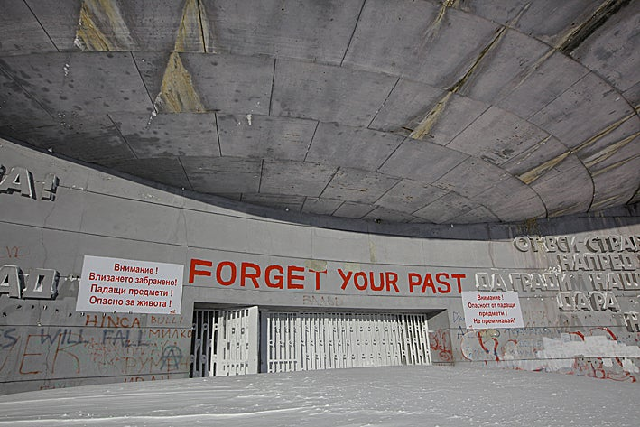 Bulgaria's abandoned Socialist monument is secretly on the ice planet Hoth