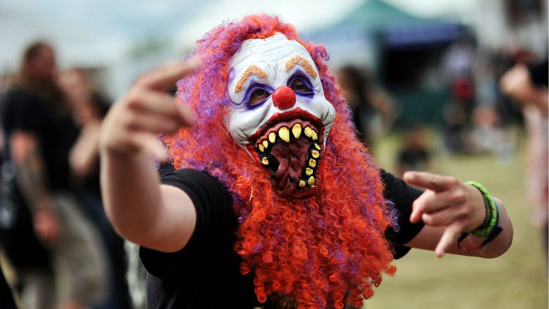 Not All the World's Clowns Were Juggalos This Weekend