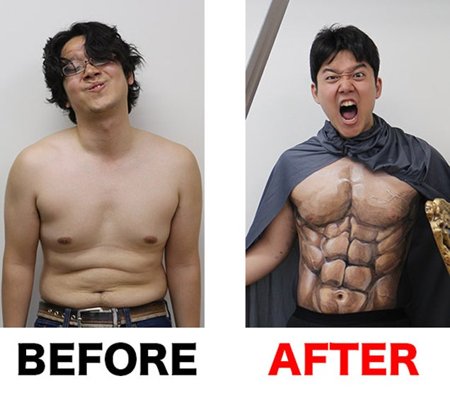 Shirtless Spartan Warrior Cosplay Made Easy!