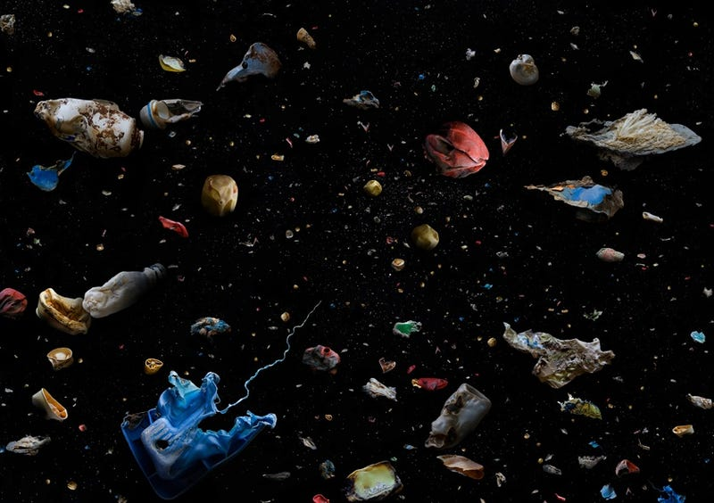 Underwater trash photos look like scenes from an alien world