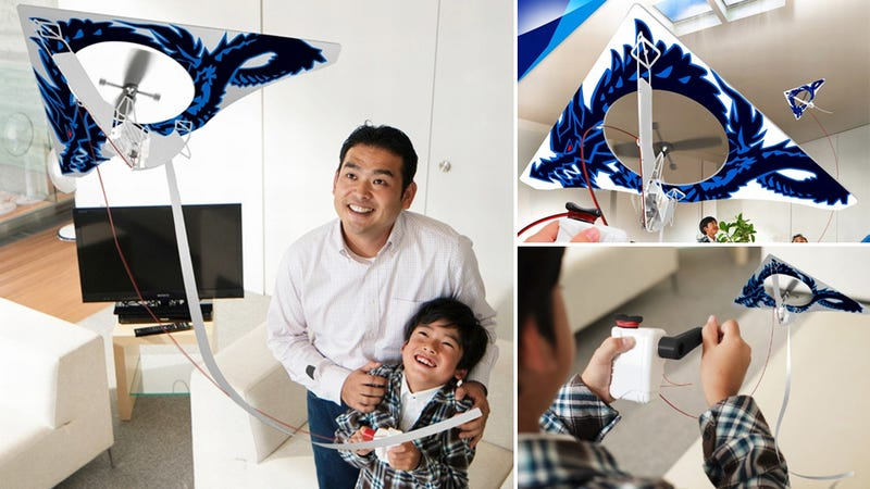 Indoor Kite Provides Several Minutes of Agoraphobic Fun