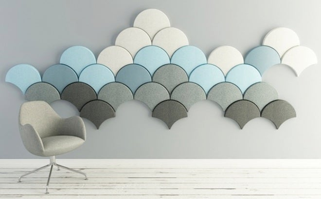 These Scale-Shaped Tiles Will Soundproof Your Room With Style