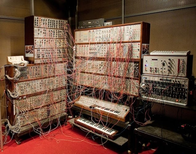 Control a Giant Modular Synthesizer from the Comfort of Your Home