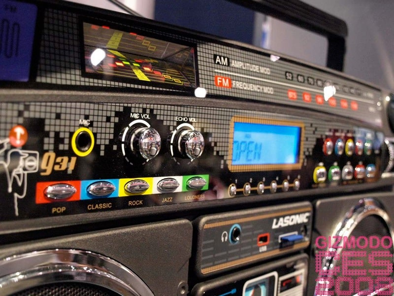 Legendary Lasonic i931 iPod Dock Ghetto Blaster: Pics, Price, and Release Date