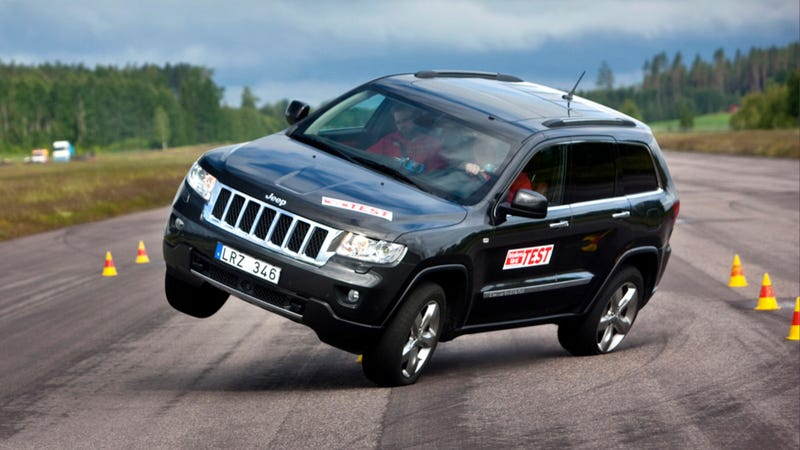 Jeep Grand Cherokee Found 'Fatal' In Evasive Maneuver