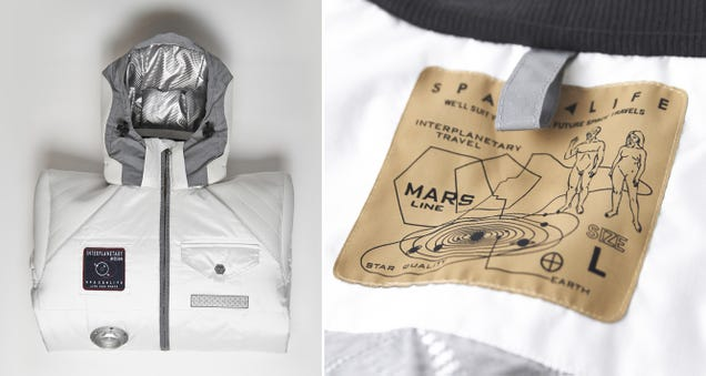 A Spacesuit-Inspired Jacket Protects You From Winter's Vacuum of Warmth