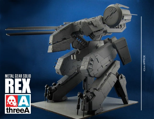 Metal Gear's Iconic Mecha Will Dominate Your Desk