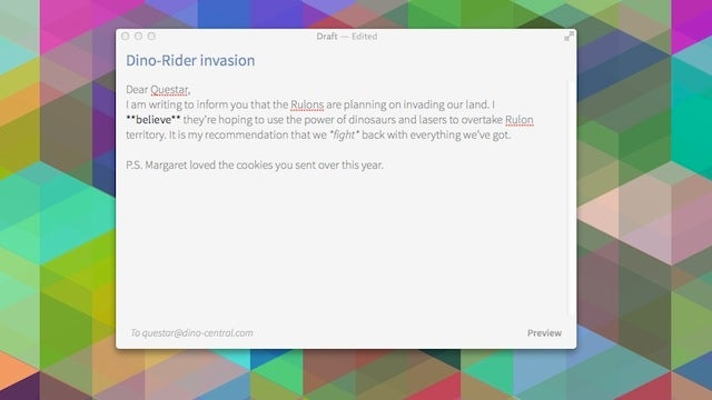 Let.ter Is an Email Client for Just Writing and Sending Email