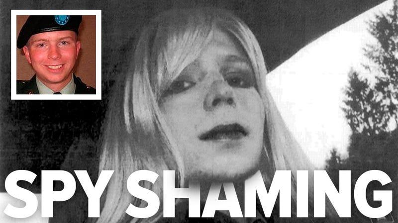 US military publicly shames Bradley Manning