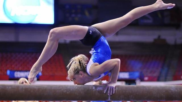 Why gymnasts don't really need their eyes