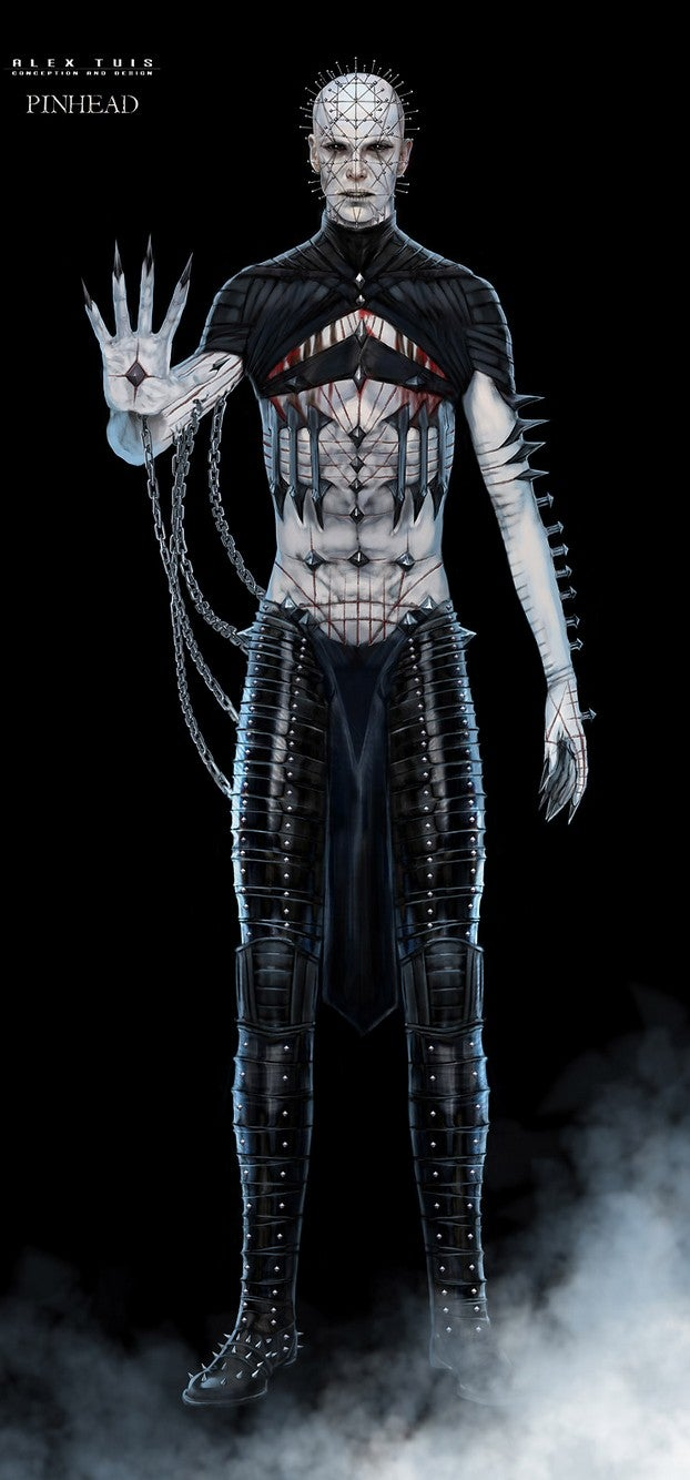 Hellraiser concept art shows the many visions of Pinhead