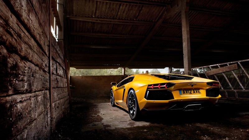 Lamborghini Aventador: Straight Up Car Porn