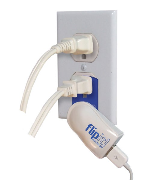 Flipit! Charges Your USB Devices Without Hogging a Wall Outlet