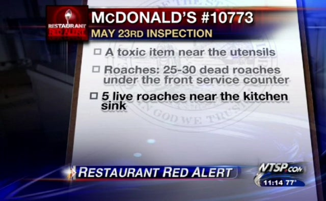 Is Tampa Home to America's Grossest McDonald's?