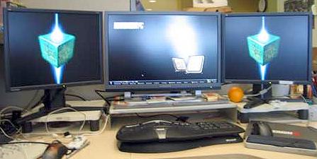 Make your own multi-monitor desktop wallpaper
