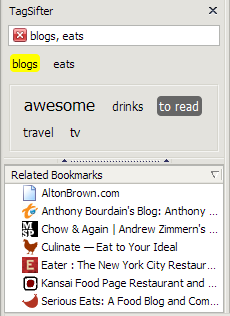 TagSifter Slices and Dices Your Bookmarks by Tag