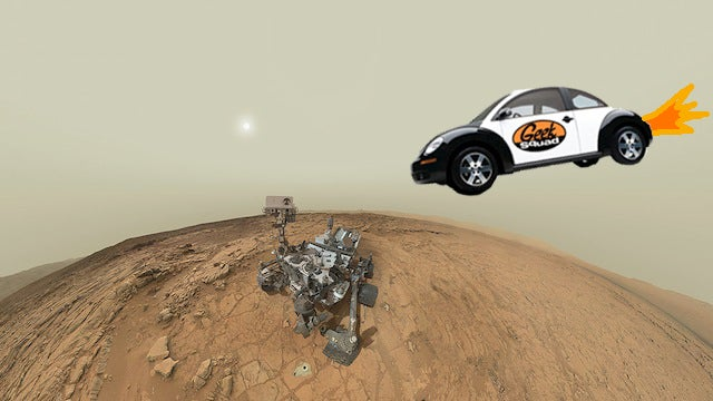 Call The Geek Squad: Mars Curiosity Rover Hit With Memory Issue
