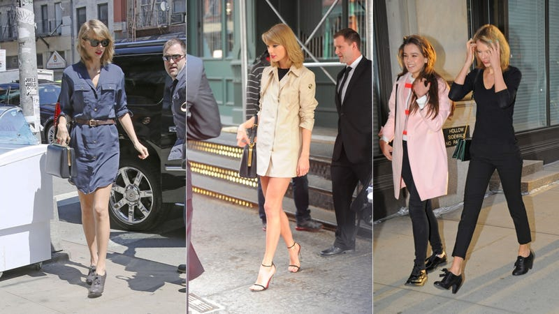 Taylor Swift's Wardrobe Approaches Betty Draper Levels of Retro