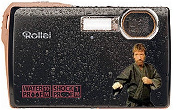 Buy this Camera or Chuck Norris Will Beat Up Your Family