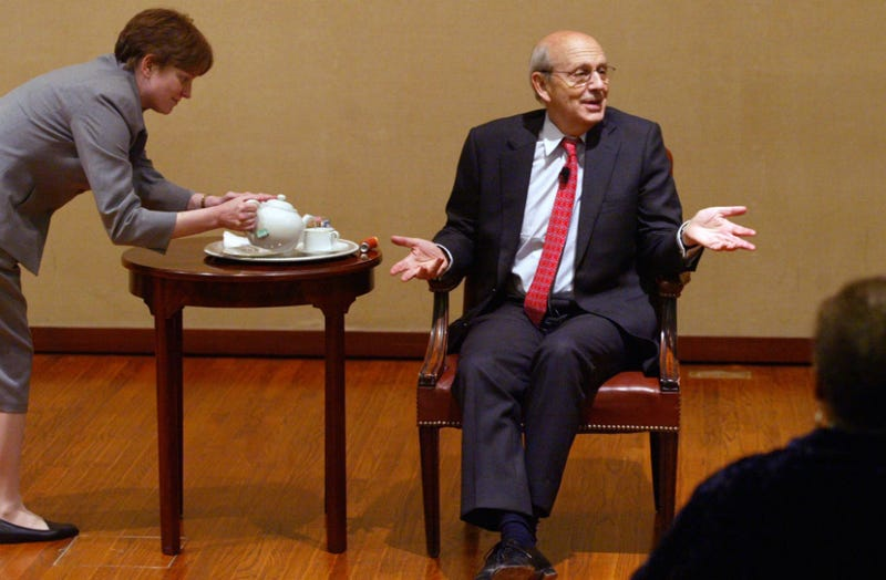 Supreme Court Justice Stephen Breyer Keeps Falling Off His Bicycle