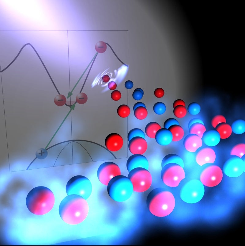 Hitting semiconductors with a superfast electric pulse massively increases their efficiency